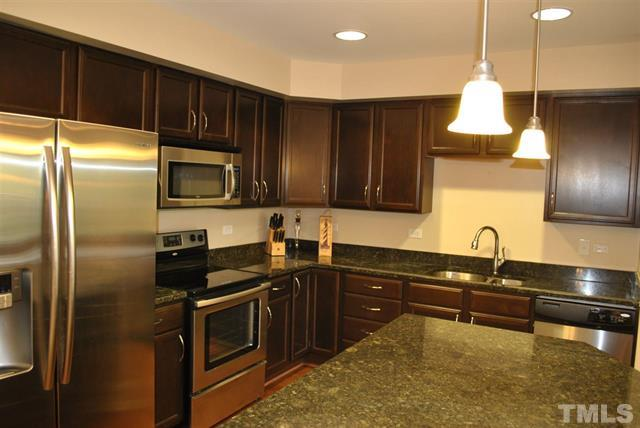 Kitchen of 222 Glenwood Unit 509 Raleigh NC LuxuryMovers Real Estate
