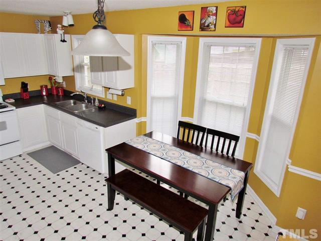 Kitchen 5809 Seward Drive Knightdale NC LuxuryMovers Real Estate
