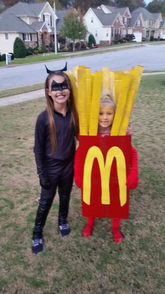 LuxuryMyovers youngest team members: scary cat lady and McDonalds french fries