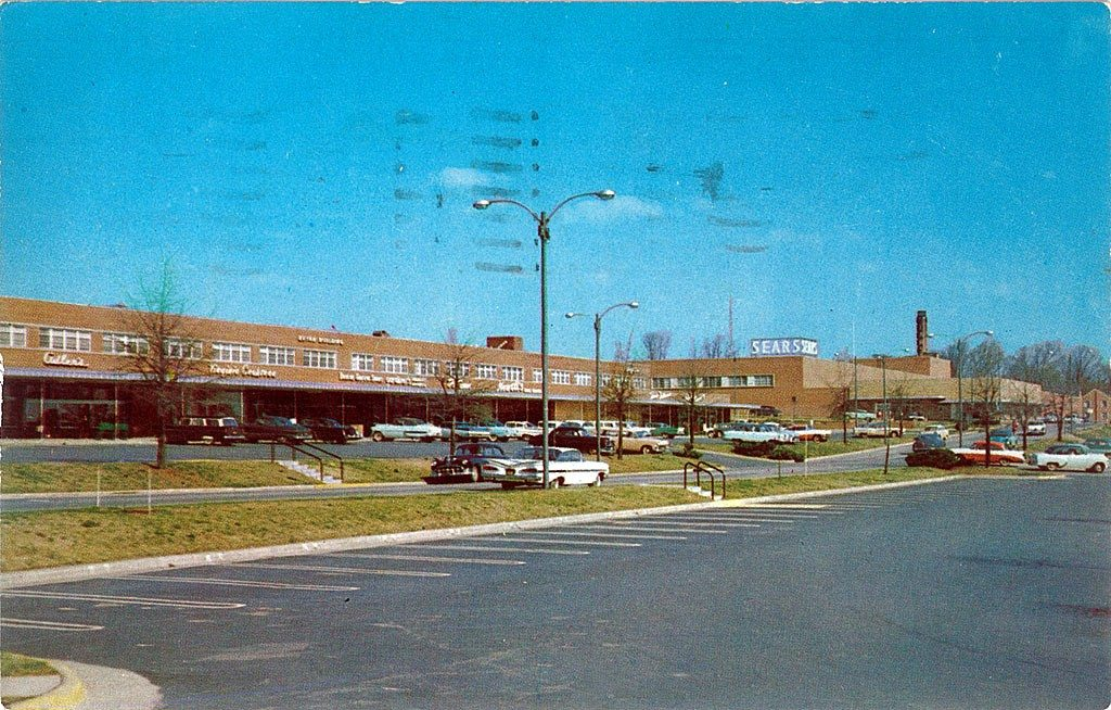 Cameron Village circa late 1950's - Your LuxuryMovers Team Raleigh NC Real Estatel