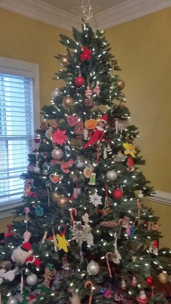 Christmas Tree Elf on the Shelf 4 LuxuryMovers Real Estate Raleigh NC