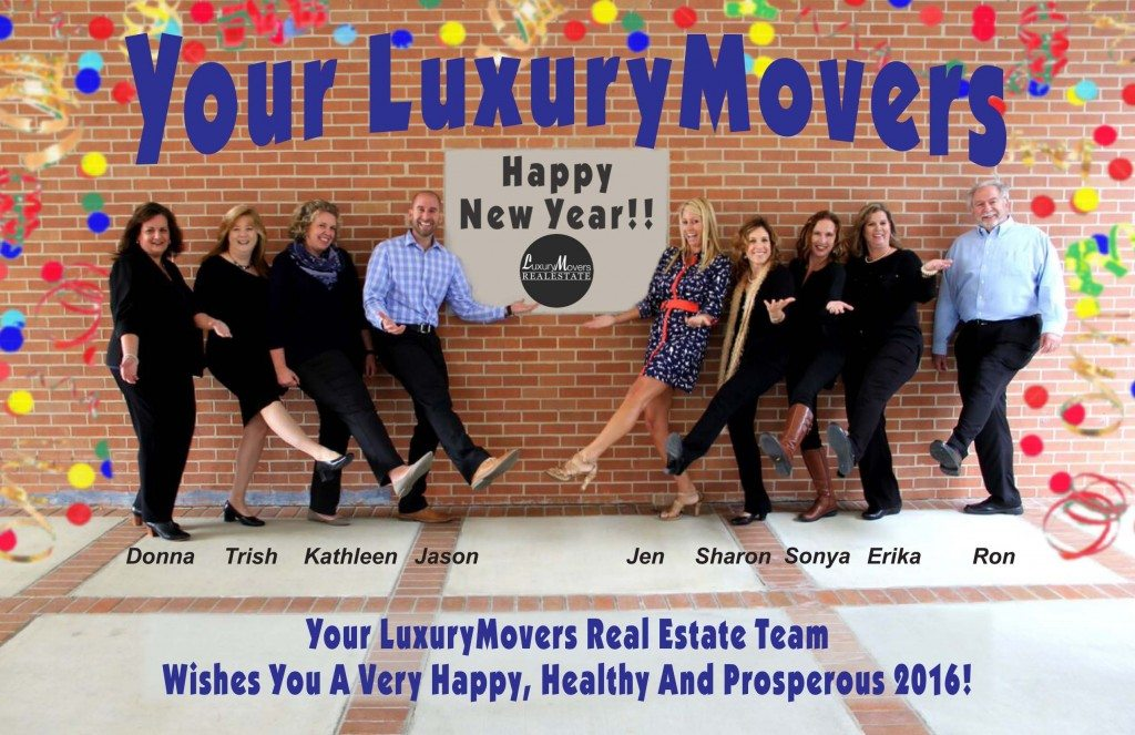 Happy New Year from Your LuxuryMovers Team Raleigh NC Real Estate
