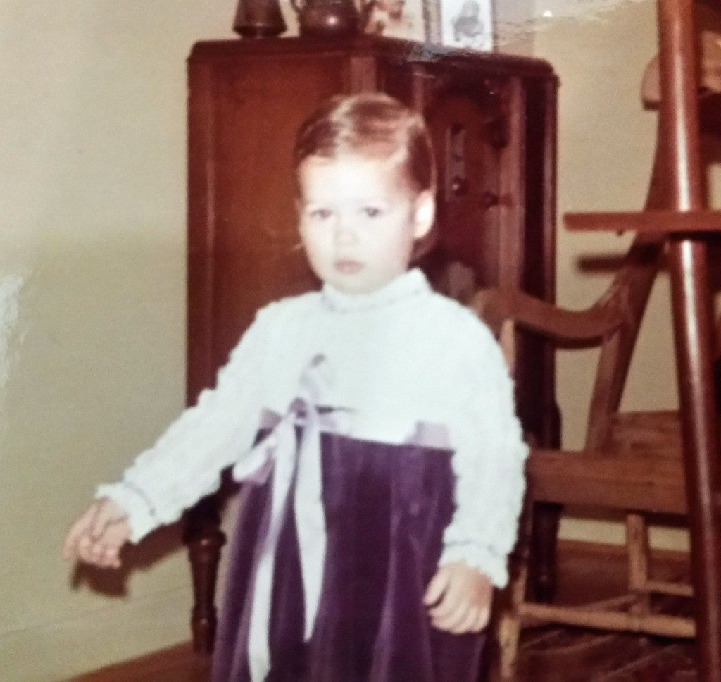 Erika as a child LuxuryMovers Real Estate Raleigh