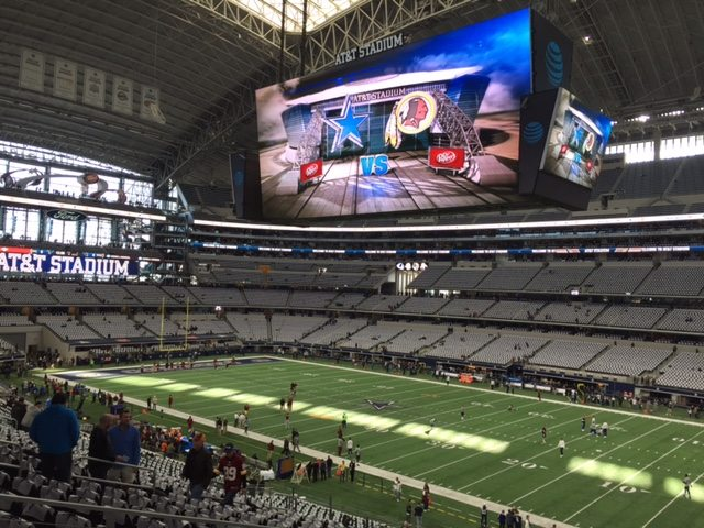Redskins Cowboys game January 3, 2016 - LuxuryMovers Real Estate Raleigh NC
