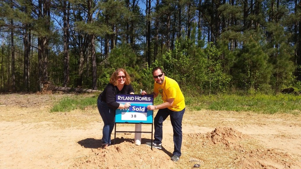 John and Heather under contract in Sutton Springs