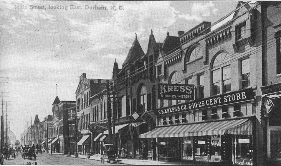Durham NC - Main Street looking east - undated - LuxuryMovers Real Estate
