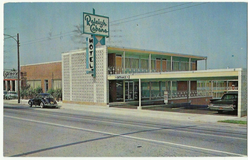 Raleigh Cabana Motel, Salisbury Street, 1960's - LuxuryMovers Real Estate 2