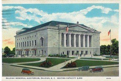 Raleigh Memorial-Auditorium 1936 - LuxuryMovers Real Estate Raleigh