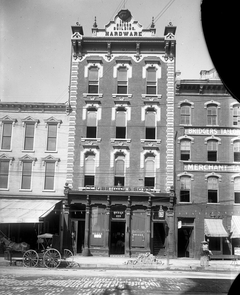 Briggs Hardware Building circa 1910 - Your LuxuryMovers Team Raleigh NC