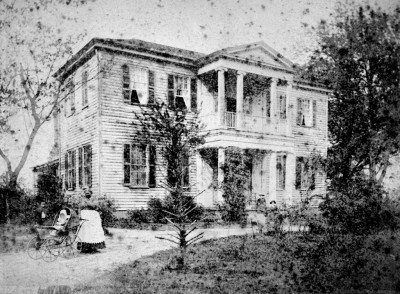 #TBT – We are throwing back to the late 19th century today with a photograph of the historic Mordecai House, located in Mordecai Park.  It is the oldest house in Raleigh in its original location. Built in 1785, it was originally the center of a plantation. The oldest section of the home was built by Joel Lane, a founder of Raleigh, for his son Henry. The house and its surrounding property were sold to the City of Raleigh in 1967, and it is a designated Raleigh Historic Landmark. Happy Thursday!