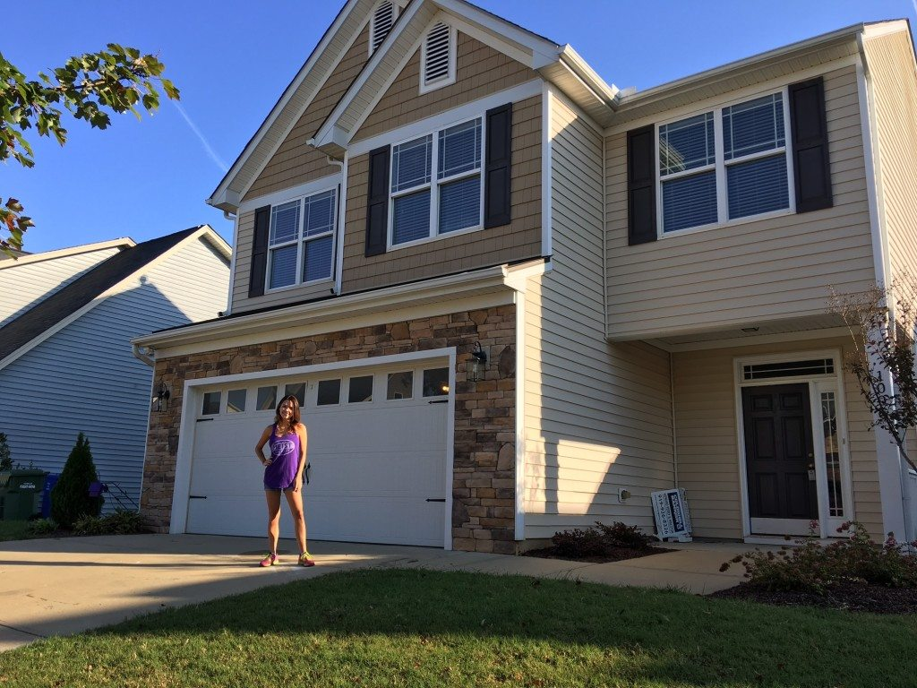 Jessica - new homeowner - Your LuxuryMovers Real Estate Team Raleigh NC