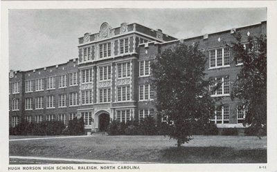 Hugh Morson High School, Raleigh NC