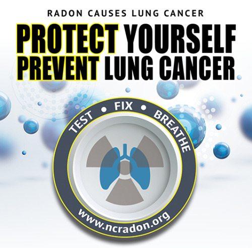 Radon action