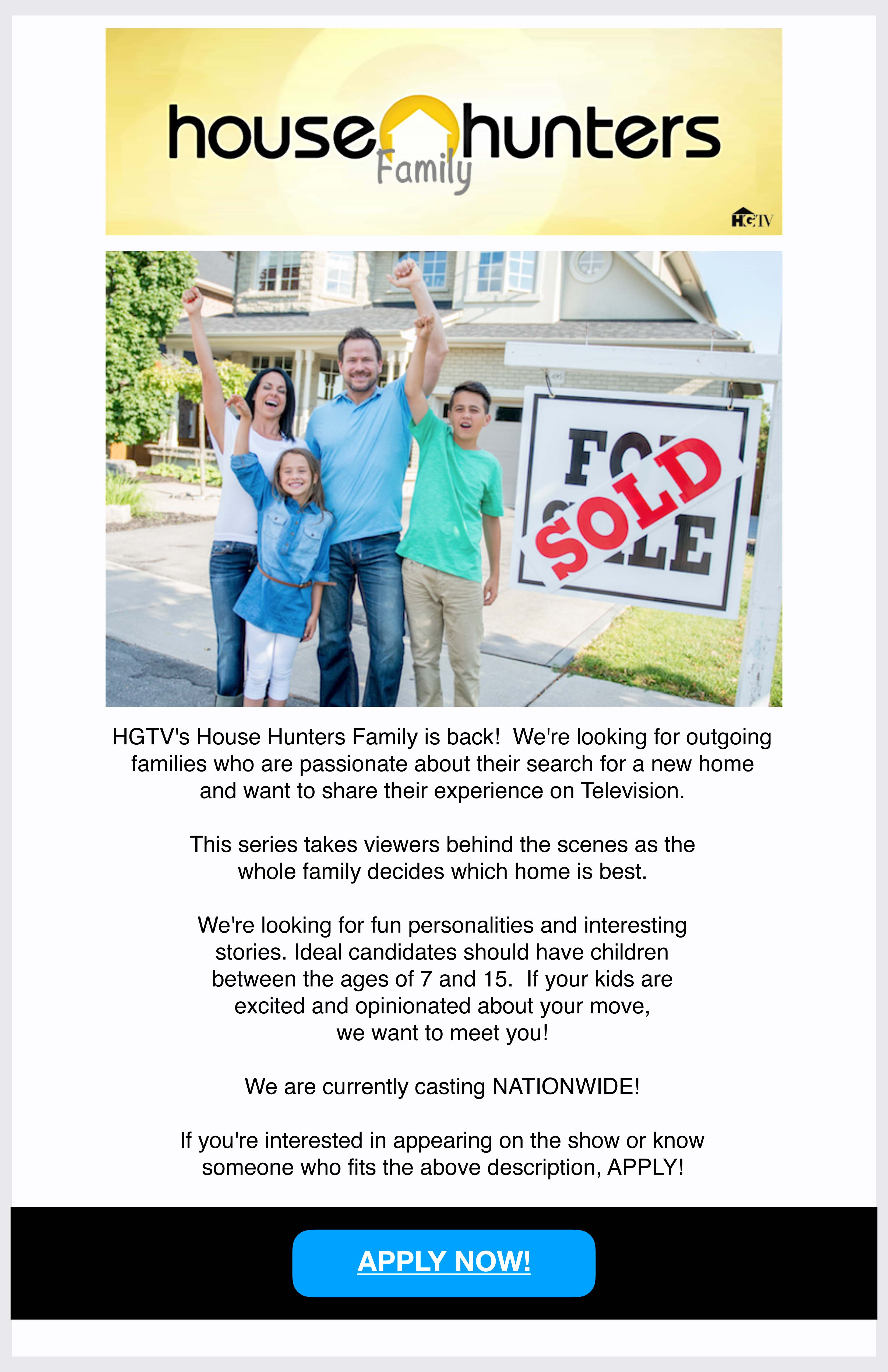 Do You Want To Be On Hgtv S House Hunters Raleigh Real Estate Blog